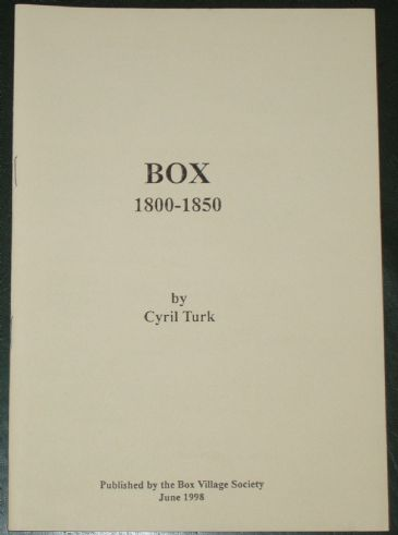 Box 1800-1850, by Cyril Turk